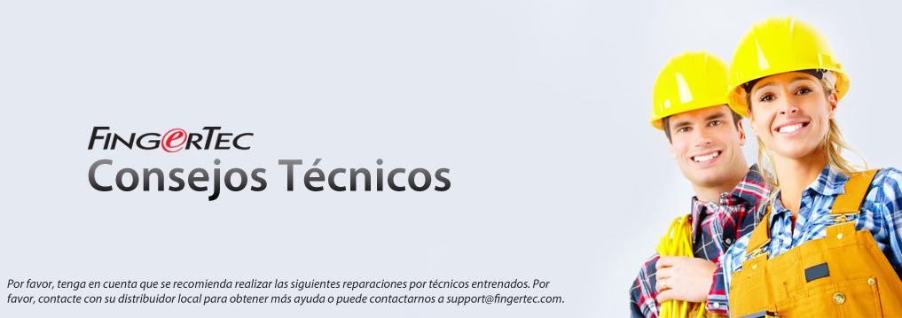 Consejos Técnicos FingerTec