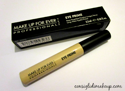 Review: Eye Prime base per occhi - Make Up For Ever