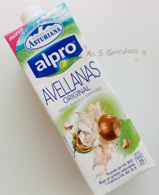 Alpro Central Lechera Asturiana eche avellanas