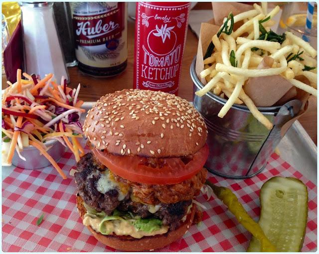 Jamie Oliver's Diner, London - Burger