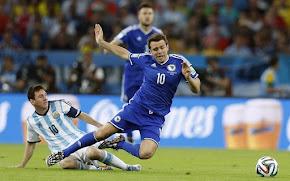 Bósnia 1x2 Argentina - 2014
