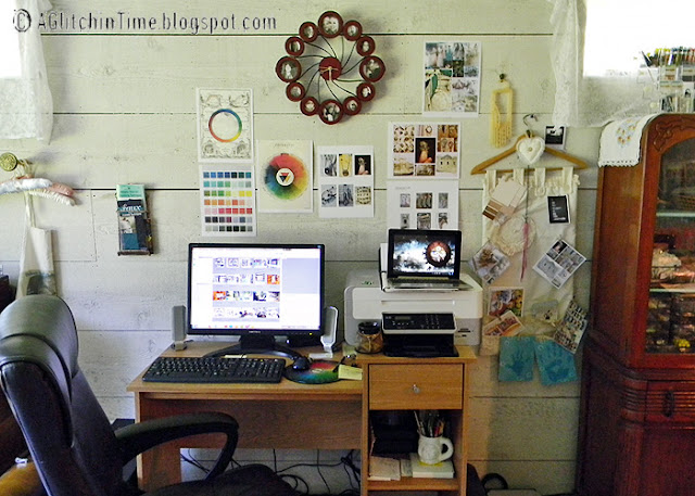 Studio-- computer desk
