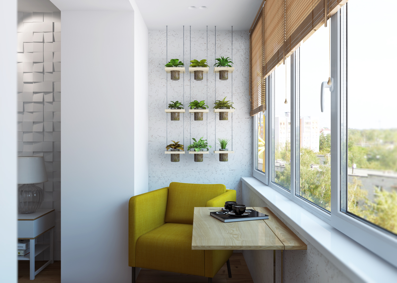 Фото ikea рулит- лоджия- дизайн проект квартиры 65 м2 дизайн.