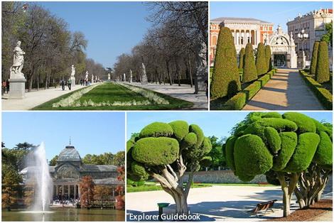 tempat wisata terkenal di madrid spanyol Retiro Park