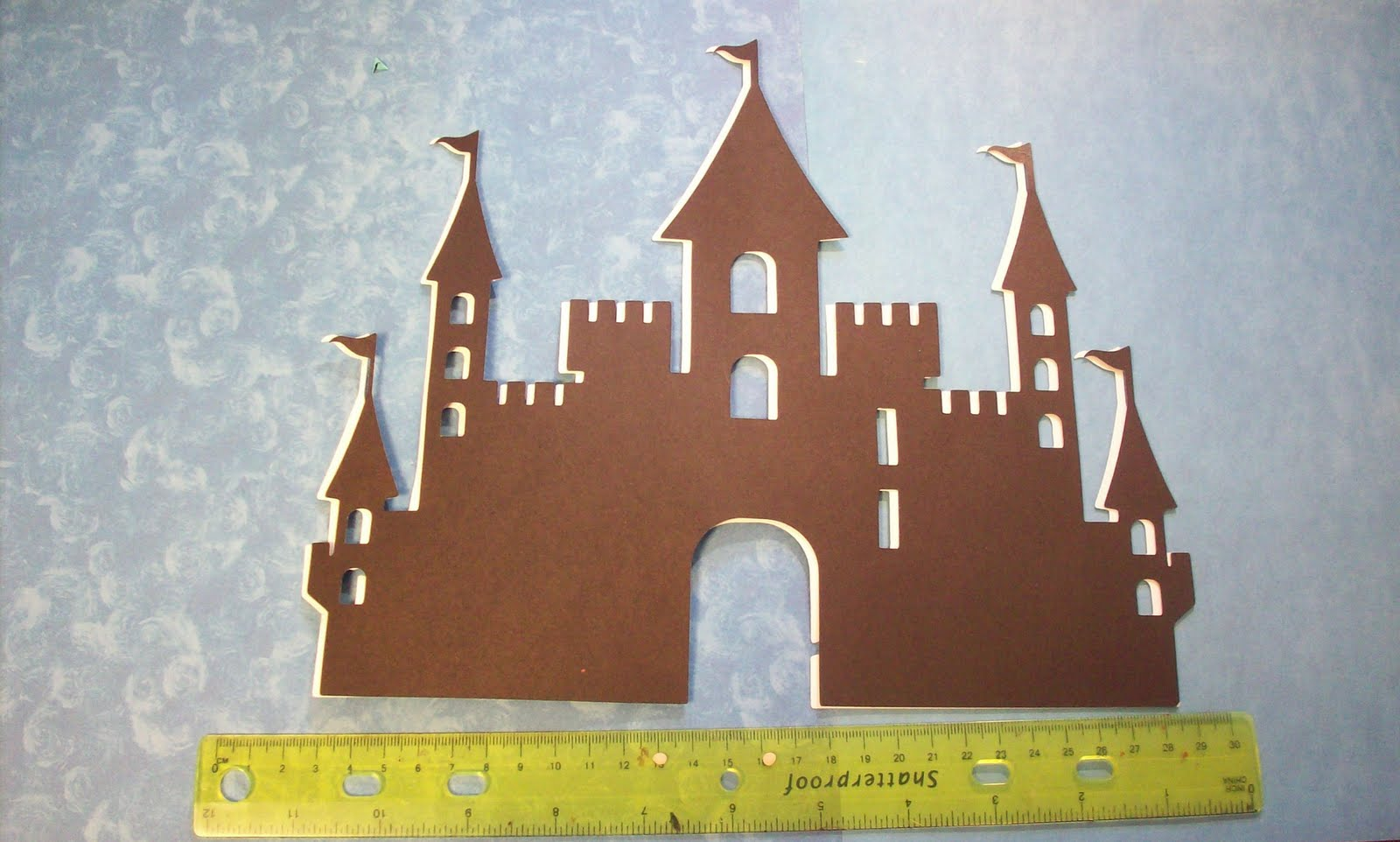 Pinky finger crafts cricut wall decor cartridge castle diecut cricut wall decor cartridge castle diecut amipublicfo Images