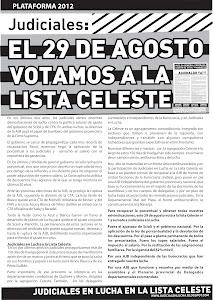 Boletín elecciones AJB