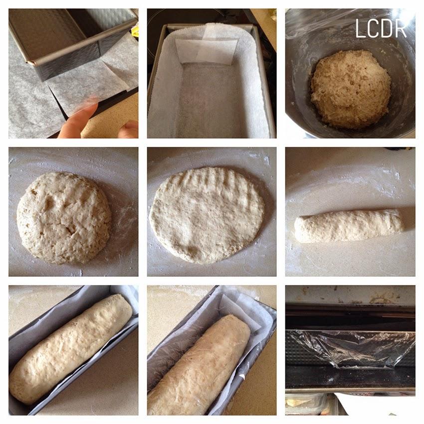 Receta de pan de avena 03