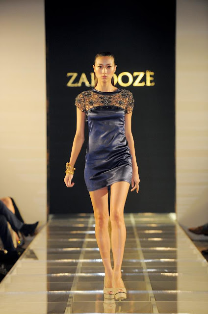 Chic cocktail dress from Singapore's Zardoze