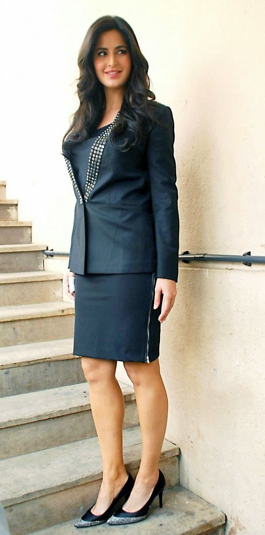 Real Work Looked Like This! Katrina Kaif Steps Out In A Sexy Secretary Suit