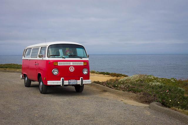 sonoma coast vw camper van