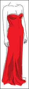 vestido+vermelho COMO COMBINAR ROUPA COM SAPATO