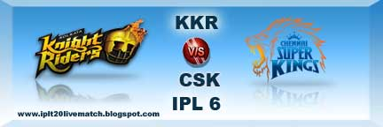 IPL 6 Point Table and Live Streaming Video