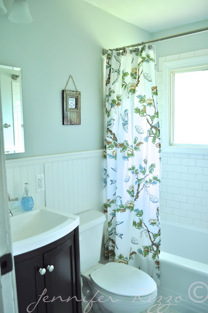The Oak house project vintage style bathroom renovation