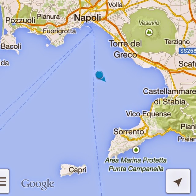 ferry to capri island