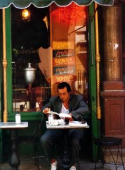 AL PACINO Has a CAPPUCCINO at Caffe Reggio