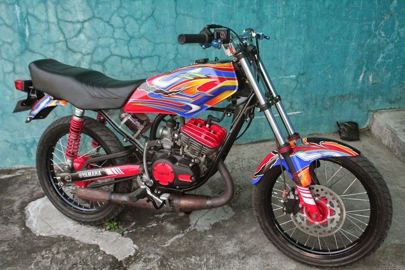 Modifikasi Keren Yamaha RX King Minimalis title=