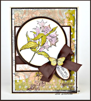 North Coast Creations Stamp sets: Floral Sentiments 8, Our Daily Bread Designs Custom Dies: Matting Circles, Circle Ornaments, Mini Tags, ODBD Stamp sets: Butterfly and Bugs