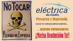 ¡MARISA, READMISIÓN YA!, CONCENTRACIÓN: MIÉRCOLES 30 de AGOSTO de 11:00h a 12:00h en la SEDE DEL PP