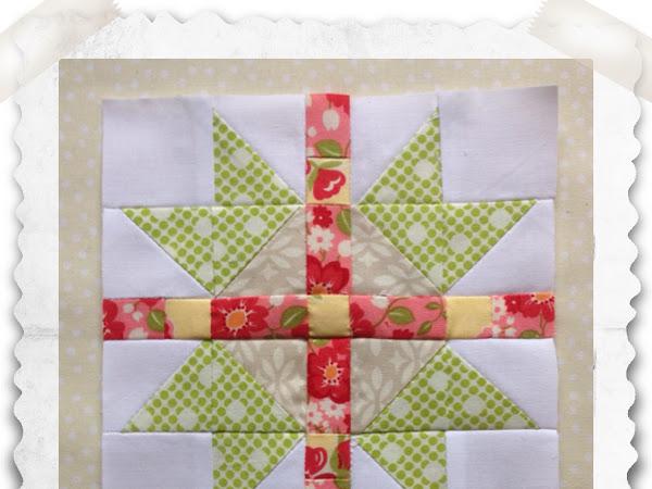 Chatelaine- Free BOW Sampler Quilt Block 43