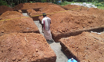 Filling in Earth House Construction Kerala
