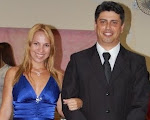 Eu e meu esposo Alexandre( Profeta da casa do Senhor! )