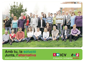Candidatura ICV-EUIA eleccions Municipals de Mollet