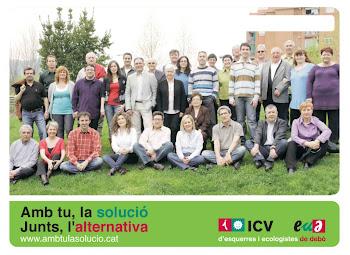 Candidatura ICV-EUIA eleccions Municipals de Mollet