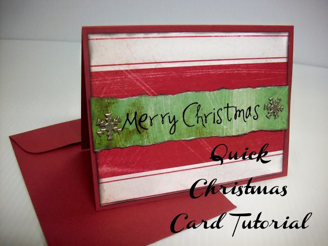 Quick Christmas Card by www.summerscraps.com