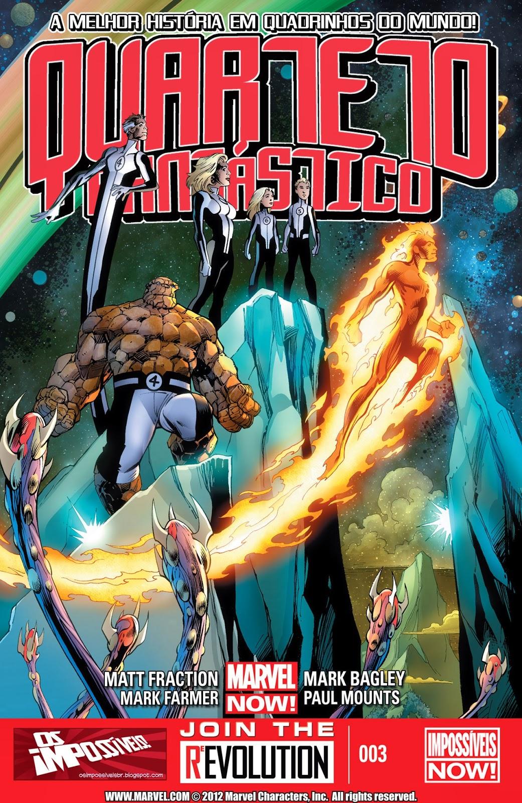 Nova Marvel! Quarteto Fantástico #3