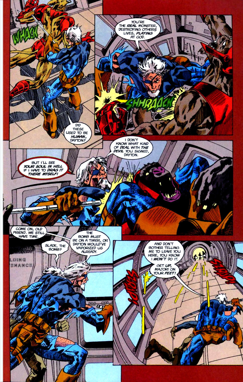 Deathstroke (1991) Issue #50 #55 - English 26