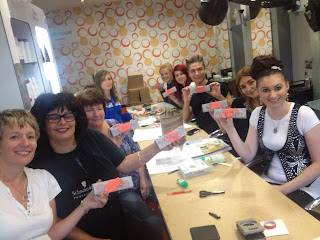 Private Stampin' Up! Class at High Street Hair in Eaton Bray - contact Bekka to arrange a class for you and your friends or colleagues