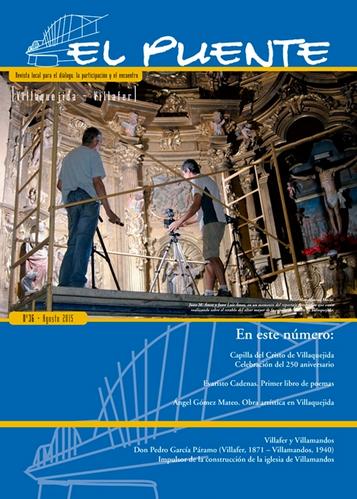 """""""EL PUENTE"""" Revista Cultural Nº36... con mi aportación"""