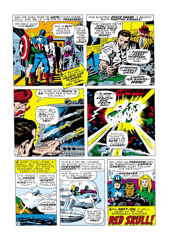 Captain America (1968) Issue #100 #14 - English 21
