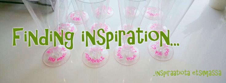 Inspiraatiota etsimässä
