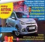 nyerd meg a Hyundai i10 személygépkocsit