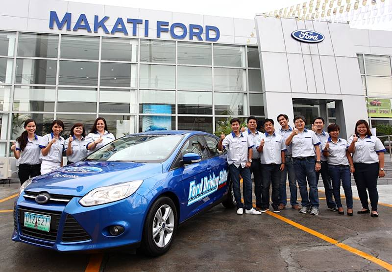 Ford philippines kicks off 2013 driving skills for life for Ford motor company driver education series