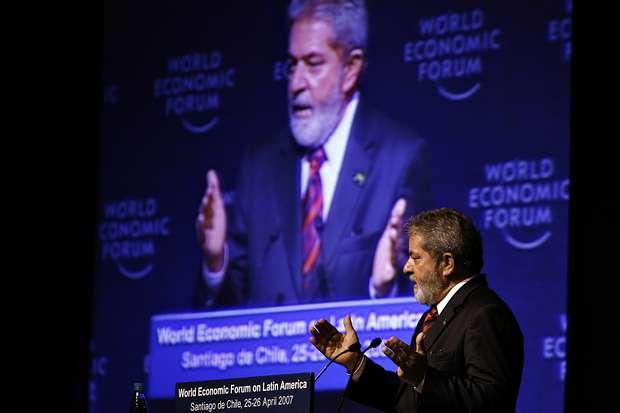 Lula, Forum Econômico Mundial