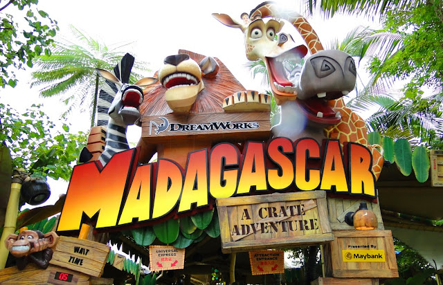 Madagascar - Wisata Tour Mancanegara: Universal Studio di Singapura