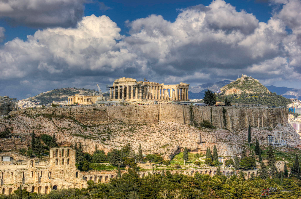 Exceptional Acropolis From Filopappou Hill.