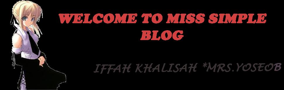 Life Story Of Iffah Khalisah