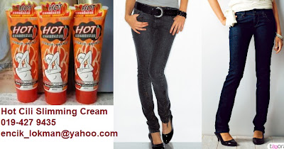 Kelebihan Hot-Chili Slimming Cream: