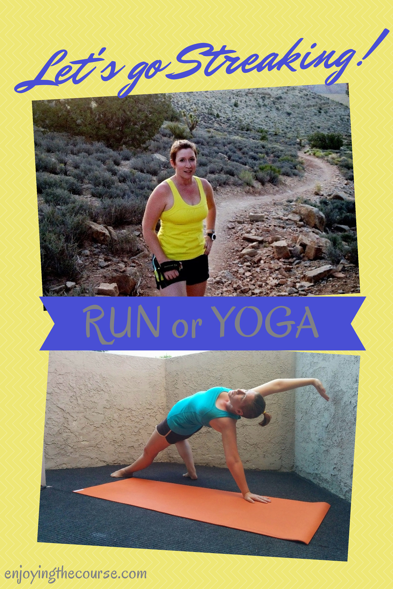 Join my birthday party! #ETCRunStreak #ETCYogaStreak | enjoyingthecourse.com