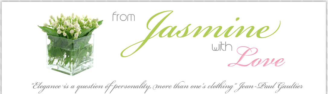 From Jasmine with Love