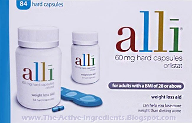 alli 84 60mg Orlistat Weight Loss Aid