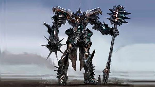 """Diseño alternativo Grimlock jefe de los Dinobots en """"Transformers: La era de la Extinción"""""""