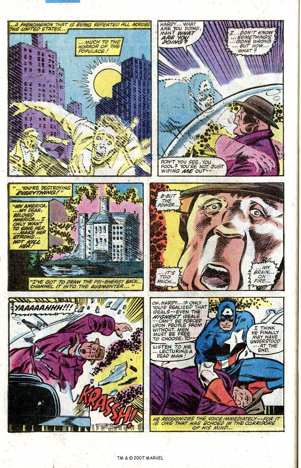 Captain America (1968) Issue #264 #179 - English 32