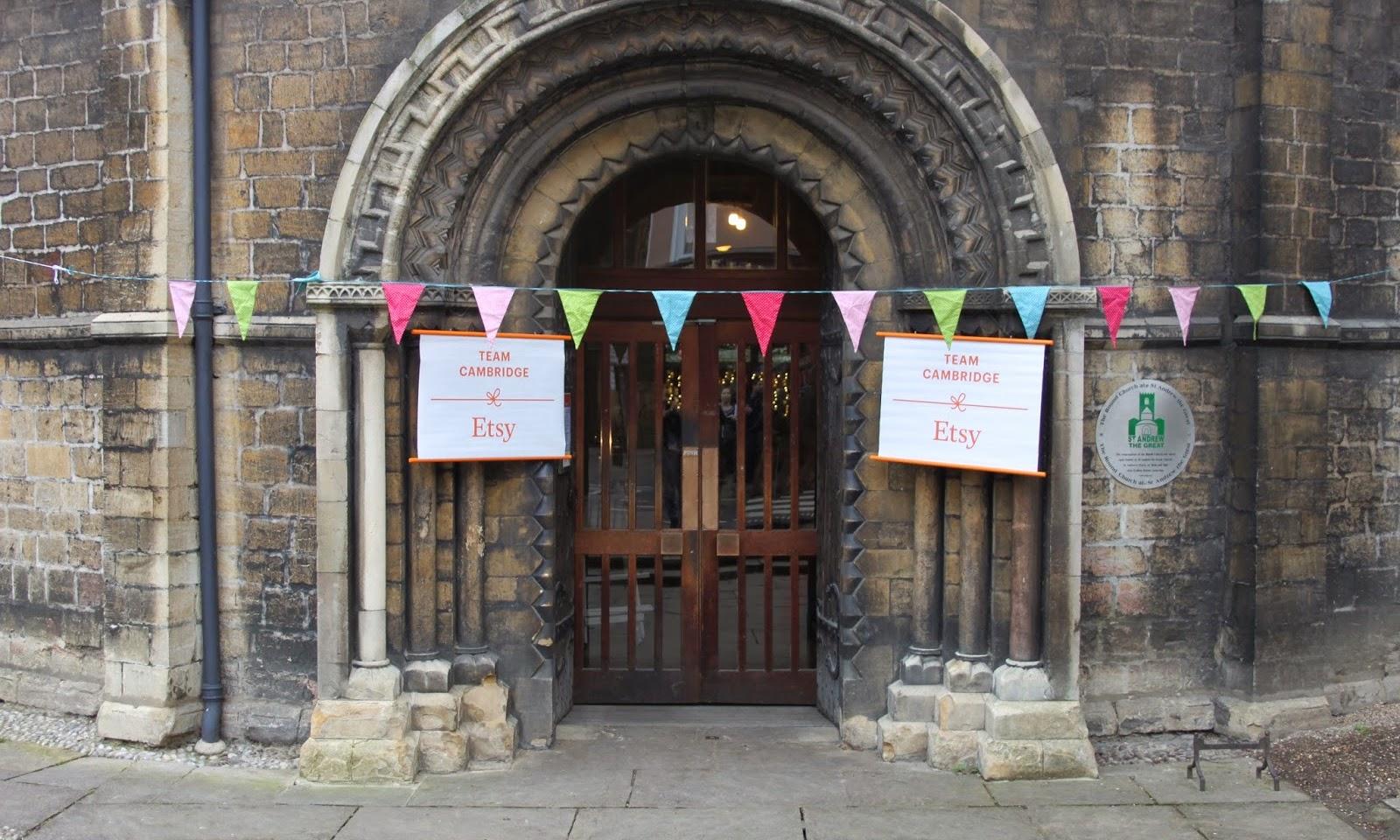 Clashing Time talks Cambridge Etsy pop-up shop