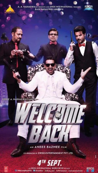 Poster Of Welcome Back 2015 1CD HDRip Hindi