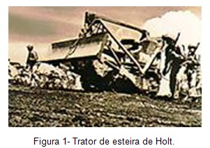 Trator de esteiras Holt