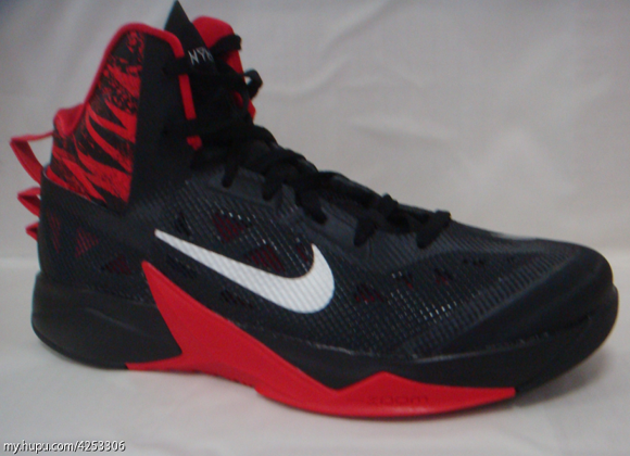 Nike Zoom Hyperfuse Low  Hollywood  Mens Basketball Shoe     Red